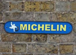 51 cms Michelin sign
