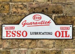 Domed ESSO plaque