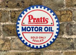 Pratts oil sign type N
