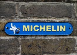 small Michelin sign