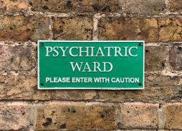 Psychiatry sign