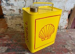 rectangular Shell fuel can -decorative