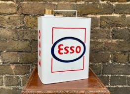 Rectangular Esso fuel can -decorative
