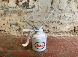 Decorative Esso oil applicator