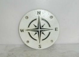 Compass points sign