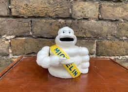 small Michelin mechanical bank