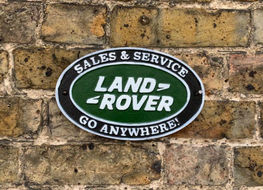 Land rover sales & service