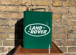 Land Rover decorative fuel can