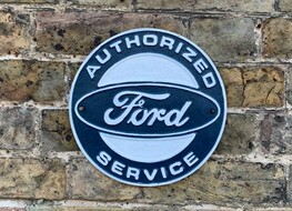 Ford authorised service plaque